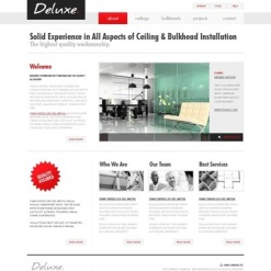 Architecture Facebook HTML CMS Template
