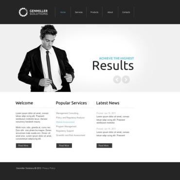 Marketing Agency Facebook Template #43986