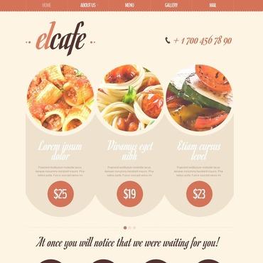 Cafe Drupal Template