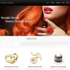 Jewelry Responsive Website Template