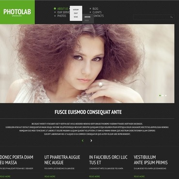 Photo Studio Responsive WordPress Theme