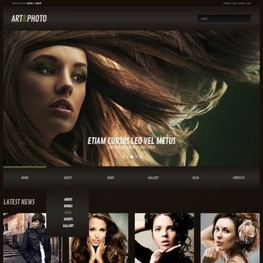 Photography Web Responsive WordPress Theme