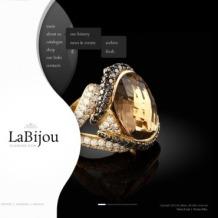 Jewelry Flash CMS Template