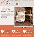 Antique Store Facebook HTML CMS Template