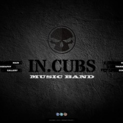 Music Band Website Template