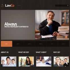 Law Responsive WordPress Theme