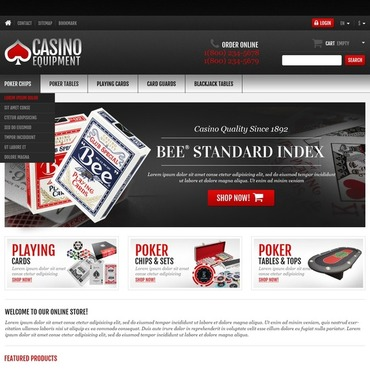 Online Casino Responsive PrestaShop Theme