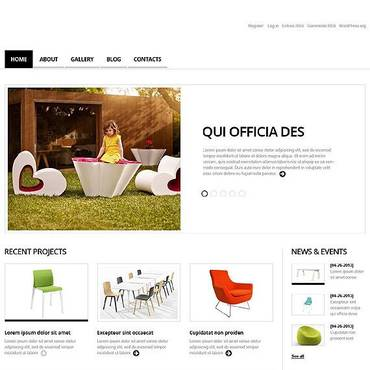 Interior & Furniture Responsive WordPress Theme