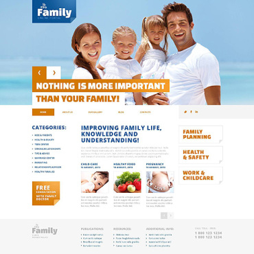 Family Responsive WordPress Theme