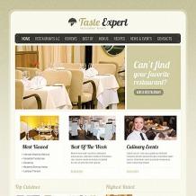 Restaurant Reviews Moto CMS HTML Template