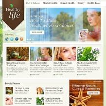 Herbal Facebook HTML CMS Template