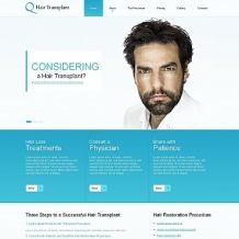 Hair Clinic Moto CMS HTML Template