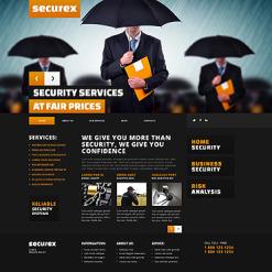 Security Responsive WordPress Theme