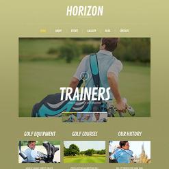 Golf Responsive WordPress Theme