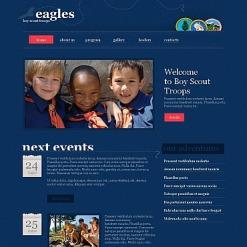 Boy Scout Moto CMS HTML Template