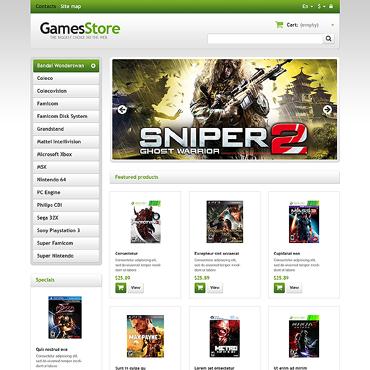 Games Responsive PrestaShop Theme