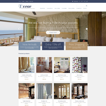 Home Decor Responsive PrestaShop Theme