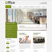 Office Moto CMS HTML Template