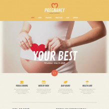 Pregnancy WordPress Theme