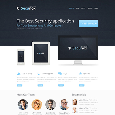 Information Security Drupal Template