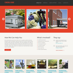 Funeral Services Moto CMS HTML Template