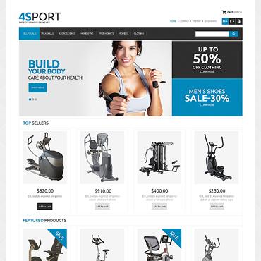 Bodybuilding Responsive PrestaShop Theme