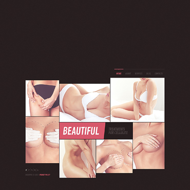 Plastic Surgery Website Template