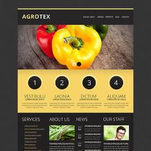 Vegetable Responsive Drupal Template