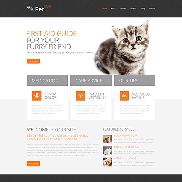 Animals & Pets Responsive Drupal Template
