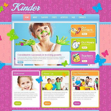 Family Center Moto CMS HTML Template