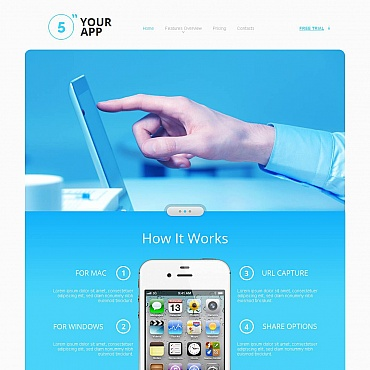 Software Store Moto CMS HTML Template