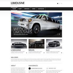 Limousine Services Responsive Joomla Template