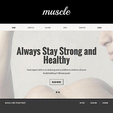 Bodybuilding Responsive Joomla Template