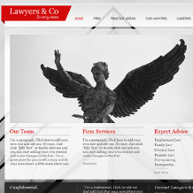 Law Firm Wix Website Template