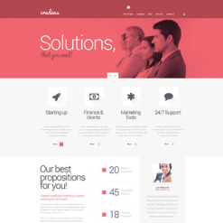 Marketing Agency Responsive WordPress Theme
