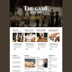 Chess Responsive Joomla Template