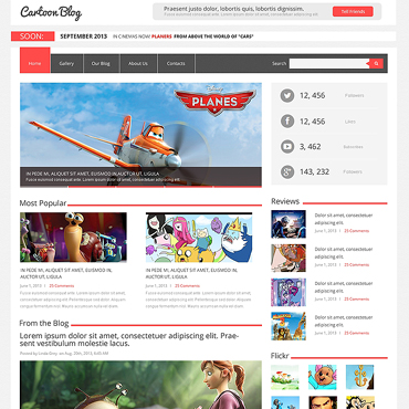 Media Responsive WordPress Theme