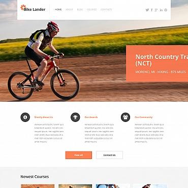 BMX Moto CMS HTML Template