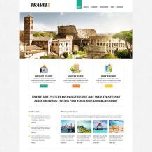 Travel Agency Responsive Joomla Template
