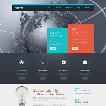 Outsourcing Company WordPress Theme