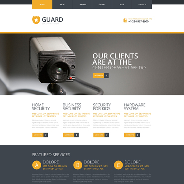 Locksmith Responsive Joomla Template