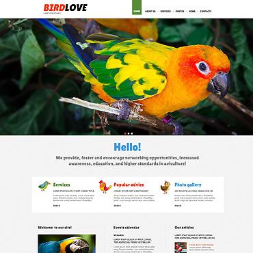 Birds Responsive Joomla Template