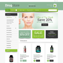 Drug Store Responsive OpenCart Template