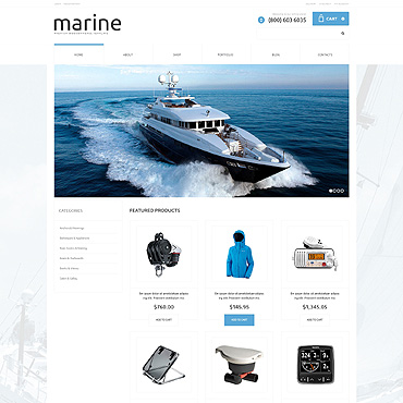 Yachting Responsive WooCommerce Theme