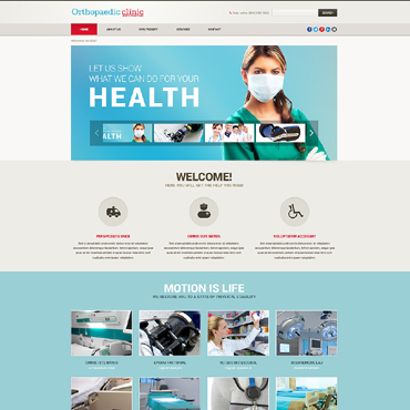 Counseling Responsive Website Template