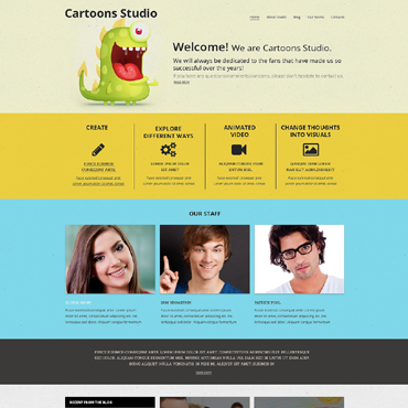 Video Lab Responsive Drupal Template