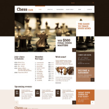 Chess Responsive WordPress Theme