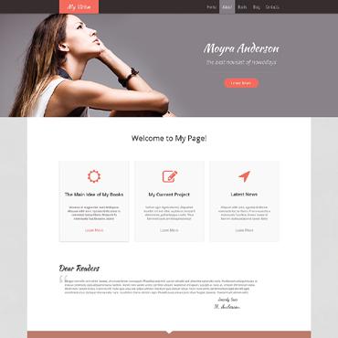 Personal Page Responsive WordPress Theme
