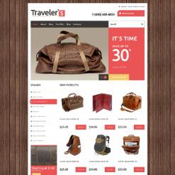 Travel Store Responsive Jigoshop Theme