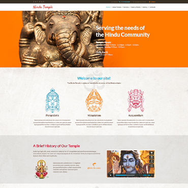 Hinduism Responsive WordPress Theme